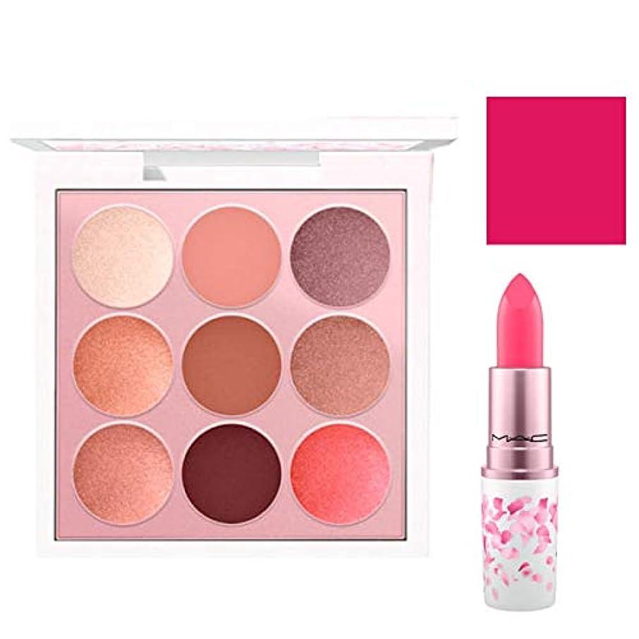 キノコ場所指紋M.A.C 限定版, Boom, Boom, Bloom EyeShadow & Lipstick (Kabuki Doll Palette & Tsk Tsk!) [海外直送品] [並行輸入品]