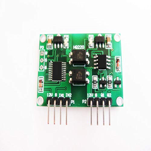 Taidacent Two Channels Voltage Signal Isolation Module 0-5v Linear Conversion Transmitter Module