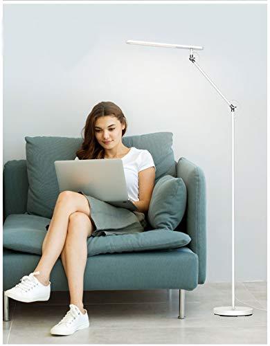 Lucky Lampada Scrivania a LED, Lampada da scrivania dimbaar, Pannello di controllo gevoelige, Porta di Ricarica USB, Lampada a LED portatile, Promemoria intelligente in 3 modi à di Colore