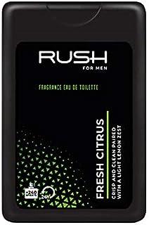 RUSH For Men - Fresh Citrus - Eau De Parfum - Pocket Perfume - 75% Alcohol - For Men - 16 Ml