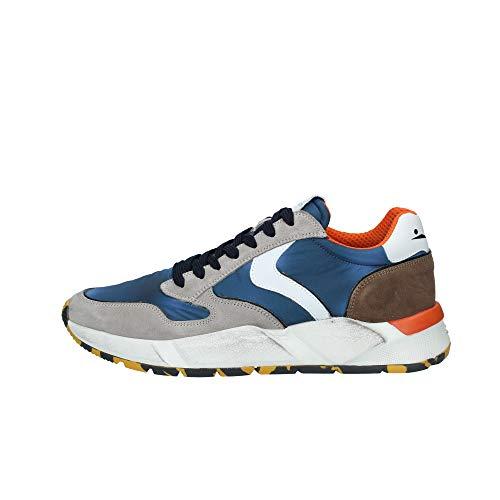 VOILE BLANCHE ARPOLH Easy-Sneaker in Nabuk e Nylon Tecnico Multicolore 44