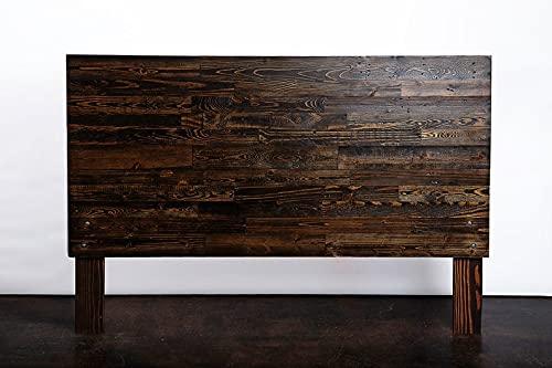 Cabecero de paletes - Cabezal Rustico - Respaldo para Cama con palets (Expresso, 150 x 110 x 6 cm)