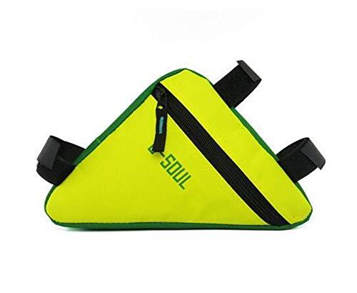 Jybhsh 4 colores del marco del tubo impermeable Triángulo montar en bicicleta armazón delantero del bolso bolsa de bicicletas de montaña del bolso del triángulo soporte Bolsa de sillín accesorios bici