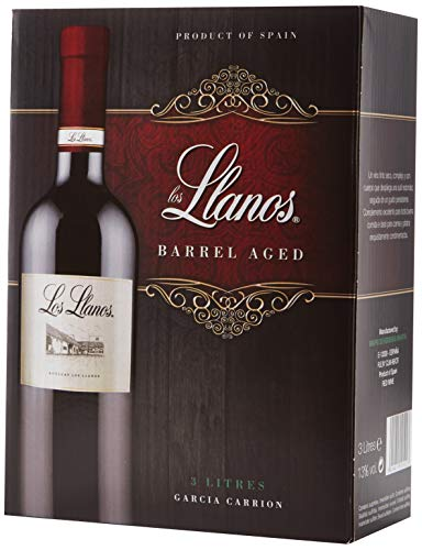 Los Llanos Tempranillo Vino Tinto, Bag in Box de 3000 ml