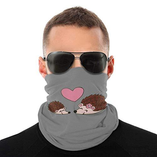 Nother Lindo oso polar divertido disfraz de animal bufanda cara cara lavable antipolvo, pasamontaas, pauelo para la cabeza para mujeres negras