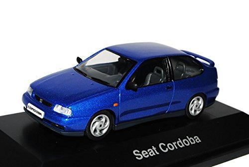 Herpa Seat Cordoba Zweitürer Blau 1.Generation 1993-1999 1/43 Modell Auto