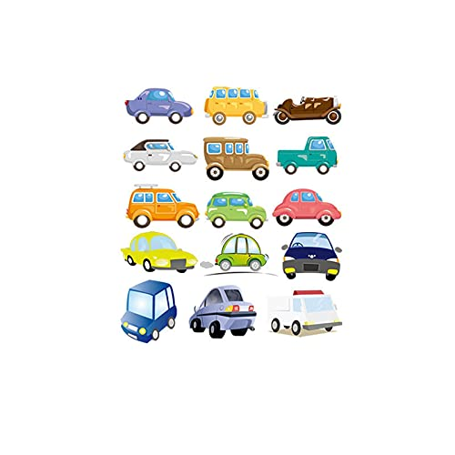 Parche de transferencia térmica,iron on patches,Ropa personalizada diy, animales de dibujos animados, coches, coches