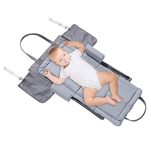 Bionic babybed Handtas Travel Dexterous Convenience Opvouwbare Matras Storage Bag Velcro Polyester Neonatale Soft Niet-toxisch, wieg Draagbare multifunctionele