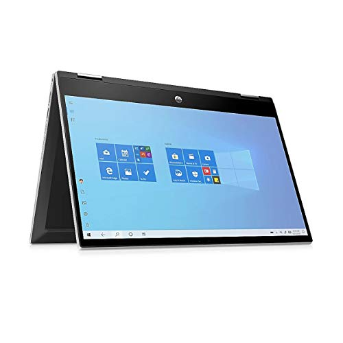 "HP 14 x360 - Convertible (2-in-1) - Silber - 14\"" FHD Touch-Display - Intel Core i5 1035G1 - 16GB RAM - 250GB SSD - USB 3 - Windows 10 Pro #mit Funkmaus + Notebooktasche"