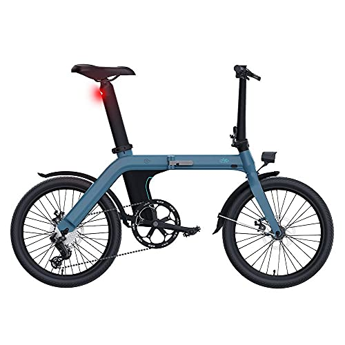 Bicicleta eléctrica Plegable para Adultos FIIDO D11, Bicicl