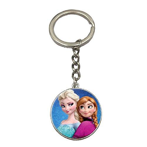 Nina Selles® Eiskönigin Schlüsselanhänger Elsa und Anna - Disney Frozen - die Eiskönigin NS-1114