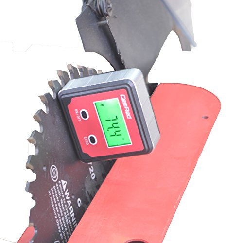 GemRed 82412 Mini Digital Level Angle Gauge Angle Finder Protractor Inclinometer Aluminum Framework with Magnet