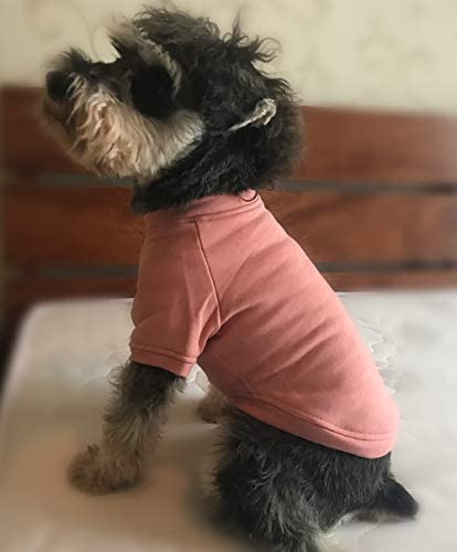 Lovelonglong 2019 Dog Pullover Sweatshirt Autumn Winter Cold Weather Dog T Shirts for Small product image