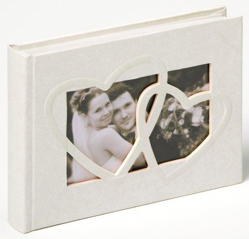 Walther FA-123 Hochzeitsalbum - Sweet Heart, 40 Seiten, 22 x 16 cm weiß