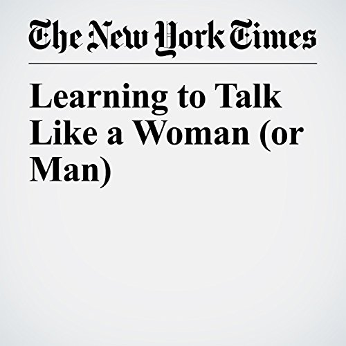 Learning to Talk Like a Woman (or Man) copertina