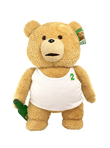 Ted 2 Movie-Size Plush Talking Teddy Bear Explicit Doll in Tank Top, 24'