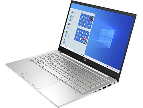 "HP Pavilion 14-dv0011ns – Ordenador portátil de 14"" FullHD (Intel Core i5-1135G7 , 8GB RAM, 512GB SSD, Intel Iris Xe, Windows 10) Blanco – Teclado QWERTY español"