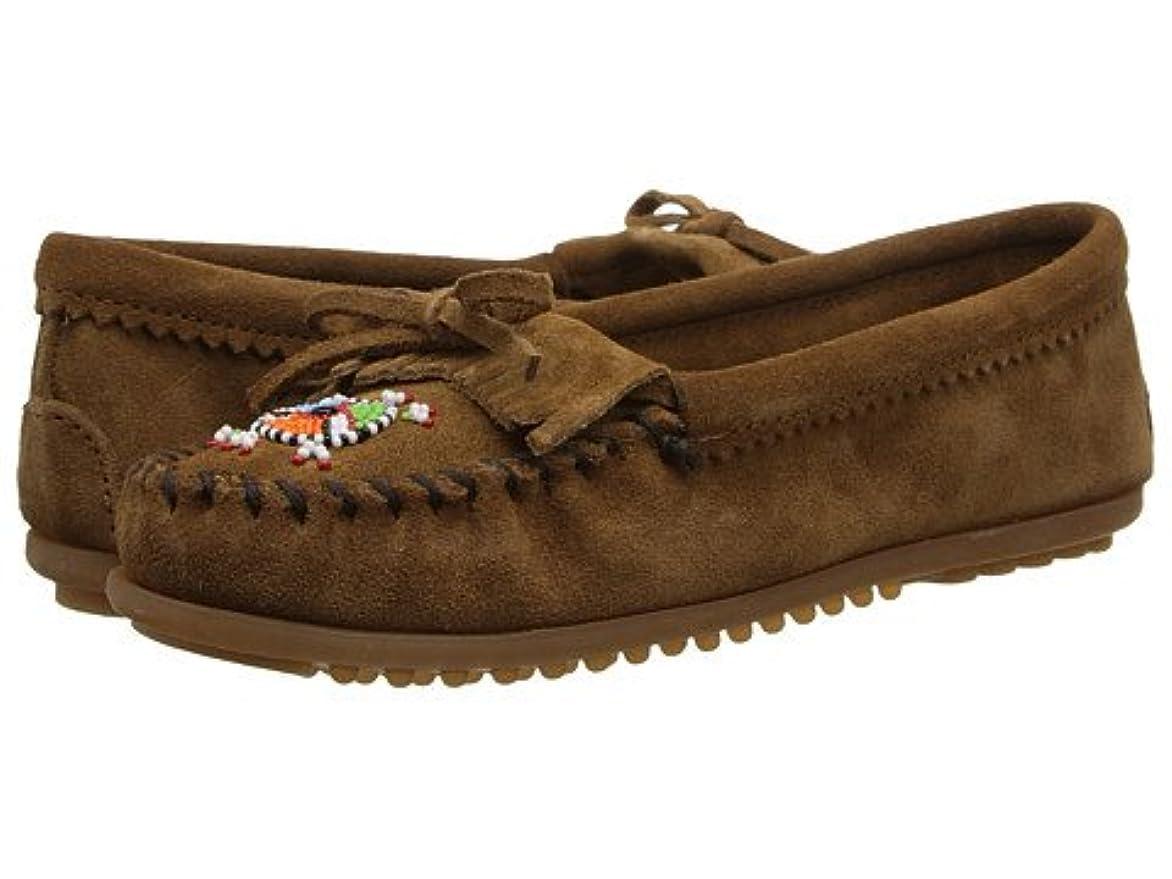 肉積分デザート(ミネトンカ) MINNETONKA レディースローファー?スリッポン?靴 Me To We Maasai Mocs Dusty Brown 6 23cm M [並行輸入品]
