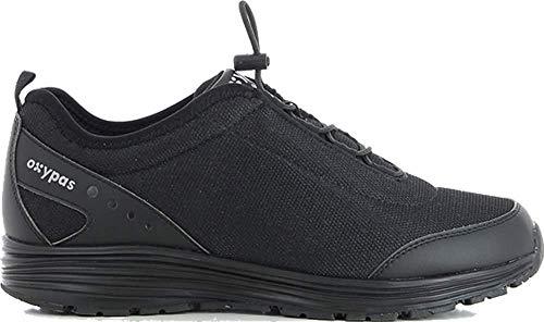 Oxypas James Herren Arbeits- und Sicherheitsschuhe   Sneaker, Farbe: Schwarz, Größe: 45