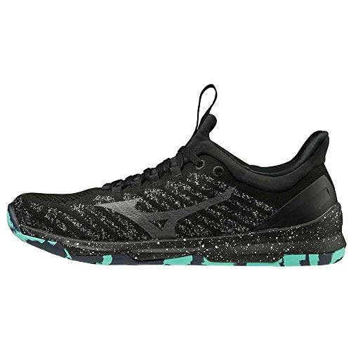 Mizuno Tc-01, Unisex Adult Indoor Sneakers, Black (Black / Quiet Shade / Wht 10), 42.5 EU