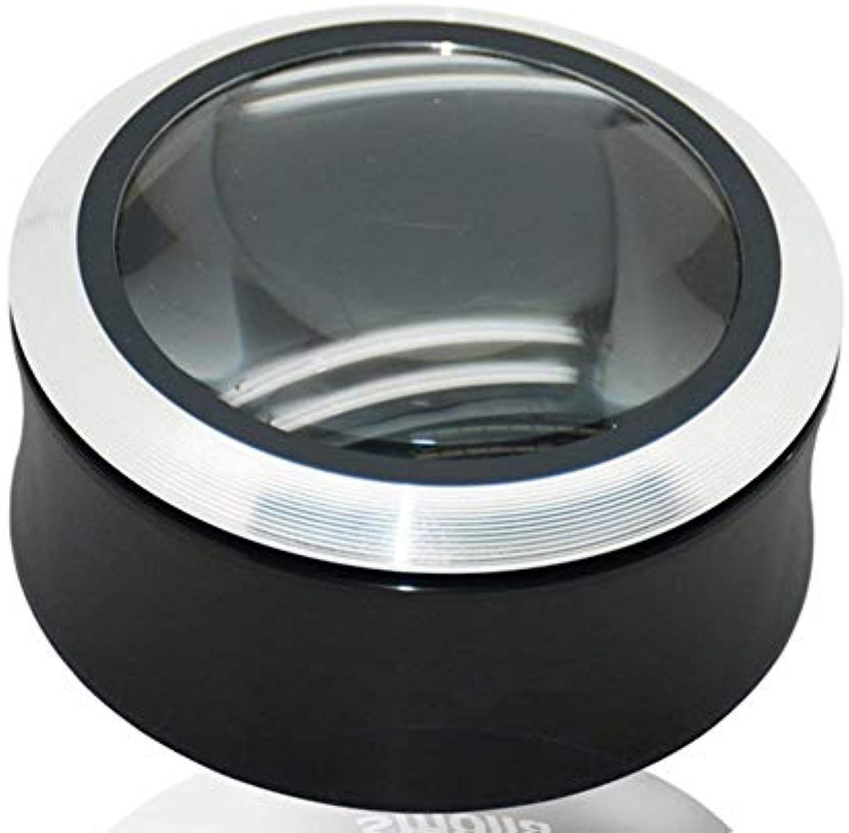 3X belichtetes hochauflsendes tragbares Vergrerungsglas mit Lampe 3 LED-Licht-HD-optische Glser Lesen-Hobby-Schmuck-Karten-Fertigkeiten