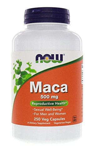 Now Foods Maca 500 mg - 250 Veg Capsules