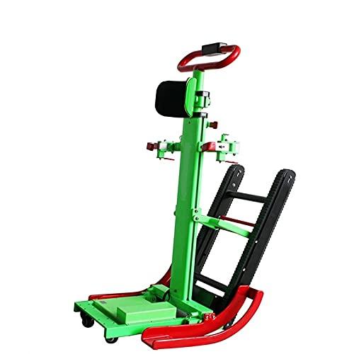 A&DW Silla De Ruedas De Escalada Automática Eléctrica, Escaleras Eléctricas para Subir Y Bajar sobre Orugas Automático Escaleras para Discapacitados Escalada Manual/Escalera para Silla De Ruedas