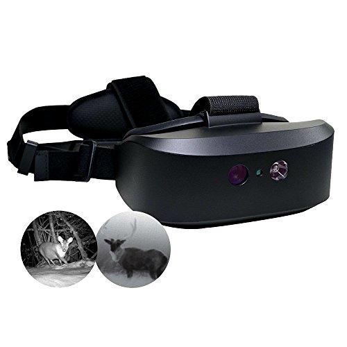 Night-Vision Goggles Infared Binoculars Water-Resistant Optics Near-Infrared Illuminator for Wildlife Viewing Hunting Surveillance - Skroutz Deals