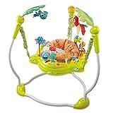 Area - Andador para bebé con asiento giratorio de 360 grados, con cinco espacios de juguete, música y luces