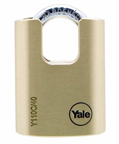 Yale Y110C/40/119/1 Candado de Seguridad Con Arco Cerrado,