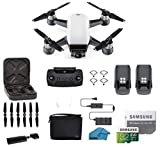 DJI Spark Intelligent Portable Mini Drone Quadcopter, Fly More Combo,...