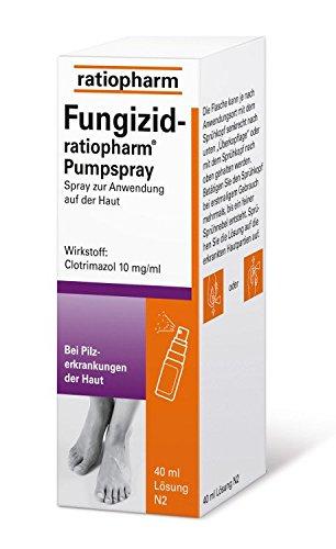 ratiopharm FUNGIZID-ratiopharm Pumpspray - 40 ml Spray 03417781