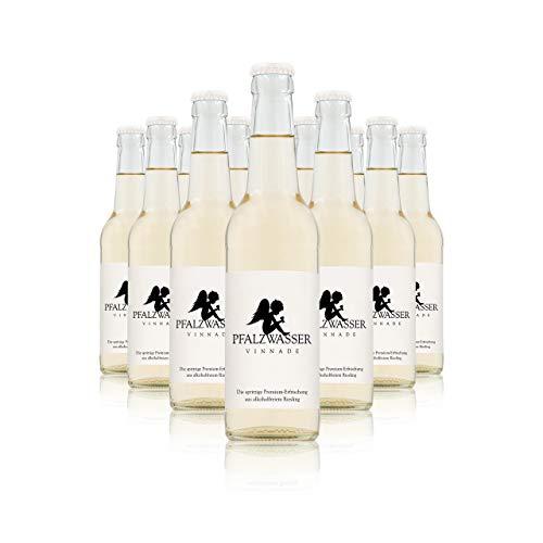 Pfalzwasser Vinnade - stilvolle prickelnde Premium-Erfrischung aus alkoholfreiem Wein (12x 0,33l Flasche)