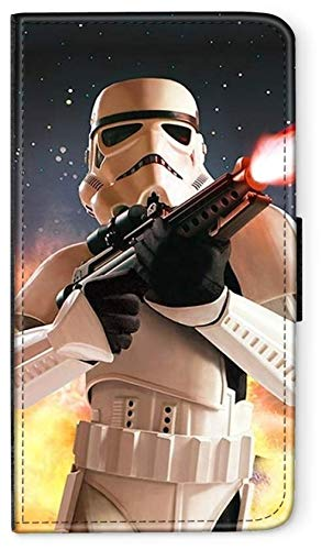 Flip Hülle Star Wars DUNKLE Macht kompatibel für Huawei P30 LITE Star Wars 5 Handy Hülle Leder Tasche Klapphülle Brieftasche Etui r& um Schutz Wallet M5