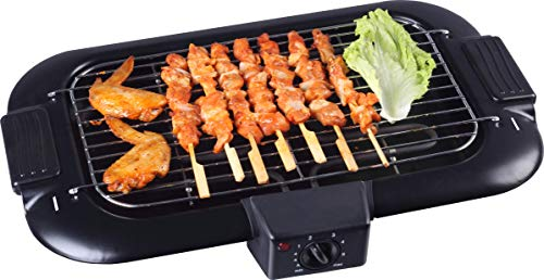 NJ Smokeless Electric Grill BBQ Barbecue BBQ 2000W with Thermostat
