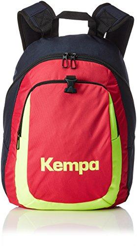 Kempa Rucksack Kids, Marine/Magenta/Fluo Gelb, 35 x 23 x 44 cm, 20 Liter
