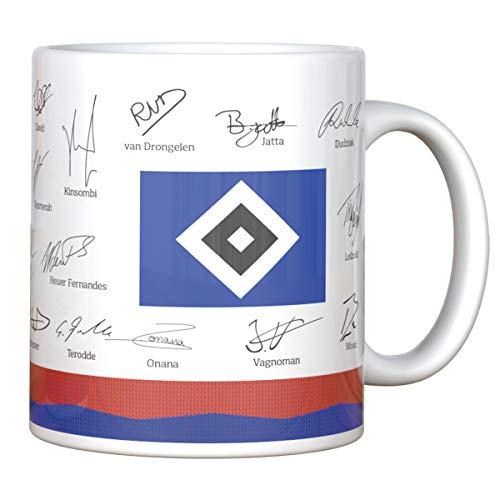Hamburger SV HSV Tasse, Becher, Kaffeetasse Team 2020/2021