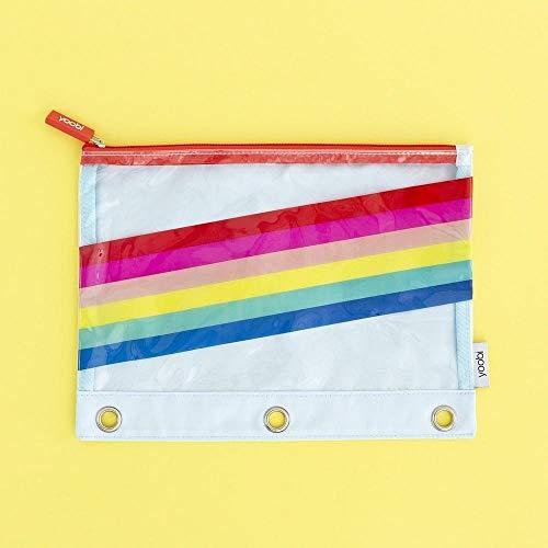 Yoobi Zip Rainbow Pencil case