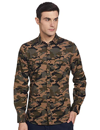 AmazonBrand –Inkast Denim Co. Men's Regular fit Casual Shirt