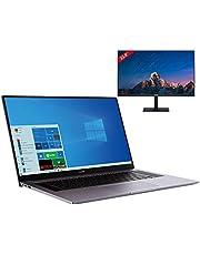 "HUAWEI MateBook D 16 Laptop 40,89 cm (16,1"") Ultrabook FullView Display, 7 nm AMD Ryzen 4000 H-Series Prozessor, Wi-Fi 6, 16GB+512GB SSD, Windows 10 Home, Space Gray + HUAWEI Display 23,8"" dazu"