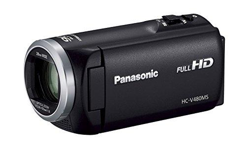 Panasonic HDビデオカメラ V480MS 32GB 高倍率90倍ズーム ブラック HC-V480MS-K