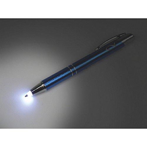 MaMeMi Kuli 'Lukas', Alu, Blau mit Licht und Laserung
