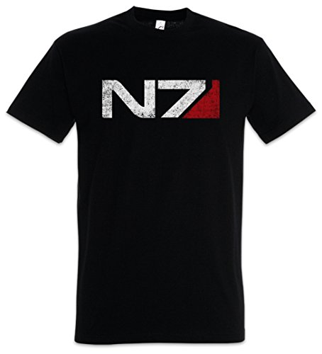 Urban Backwoods Mass Effect N7 Normandy Logo- Commander Shephard Cerberus PC Game Video Größen S - 5XL (XXL)