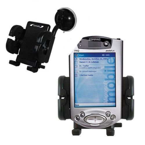 Learn More About Gomadic Brand Flexible Car Auto Windshield Holder Mount Designed for The HP iPAQ h3...