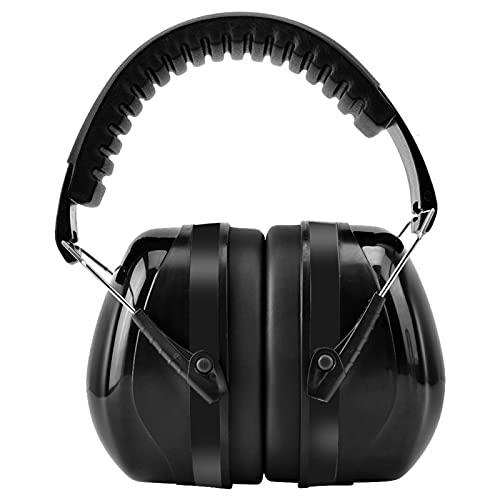 Protectores De Oídos, Mayor Capacidad De Aislamiento Acústico Orejeras De Alta Densidad Con Ruido De Corrosión Y Esponja Para Estudiar Para Dormir(negro)