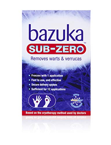 Bazuka Sub-Zero - Freezing Device for Removal of Warts and Verrucas