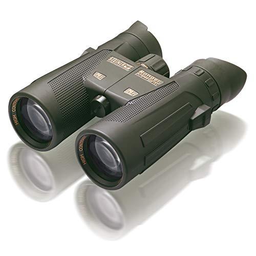 Steiner Ranger Xtreme 8x42 Fernglas - brillante Bildqualität, scharfe Details, lichtstark, großes Sehfeld - für zuverlässige Jagderfolge selbst bei schlechten Lichtverhältnissen schwarz-grün