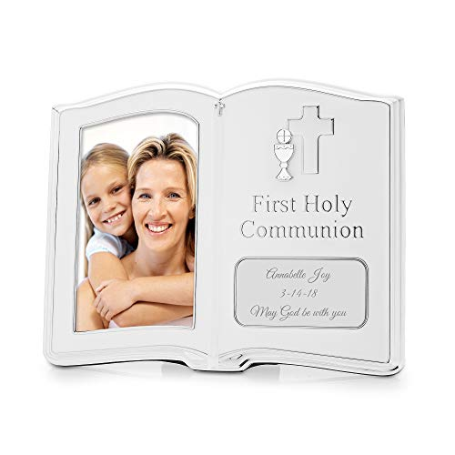 Things Remembered Personalized First Communion 4x6 Frame with Engraving Included