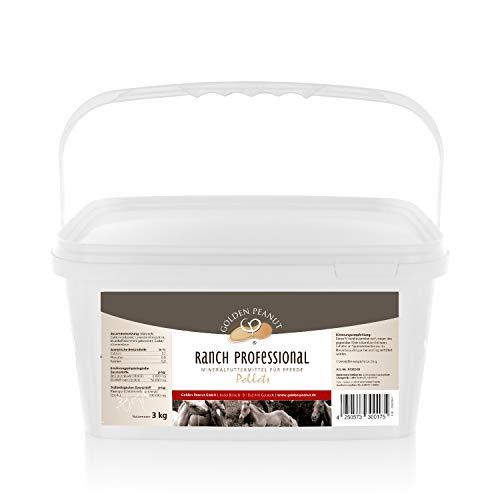 Ranch Professional mineralpellets med grönläpps-mussla för västerländska och sporthästar 3 kg hink