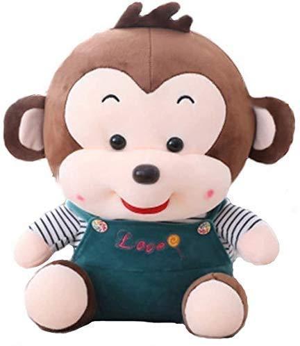 Adie Plüschtier Füllung und Gefüllte Spielzeug Neues Kissen Meng Hässlich Smiley Affe Spielzeug Spielzeug Große Kleidung Affe Puppe Ragdoll Kinder Geschenk (Farbe: gelb), Farbe: rot (Farbe: gelb), Far